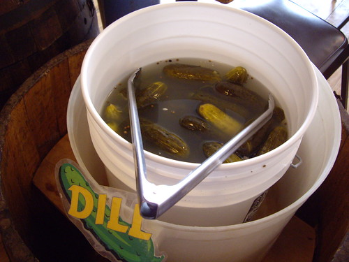 Dill Pickle Bucket at Katzinger's | by swampkitty