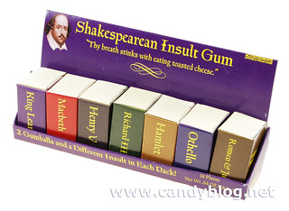 Shakespearean Insult Gum | by cybele-
