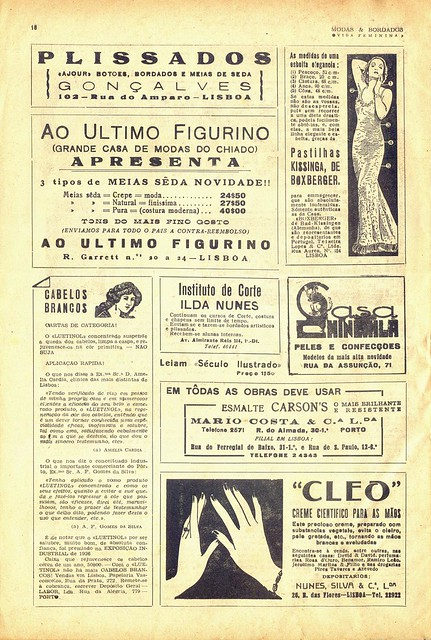 Modas e Bordados, No. 1617, February 1943 - 19
