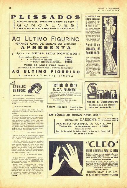Modas e Bordados, No. 1617, February 1943 - 19