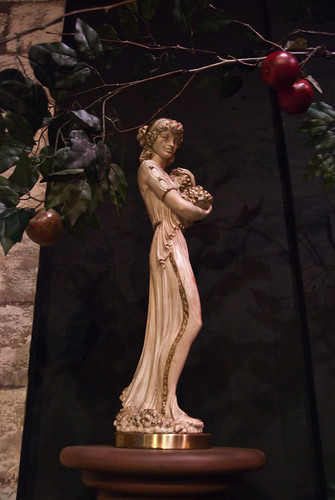 Detail: statue and apple tree | by kightp