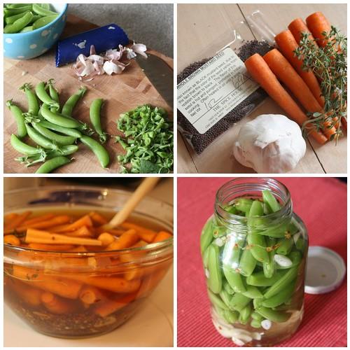 Pickling | 1. Pickled Sugar Snap Peas, 2. Spicy Pickled ...