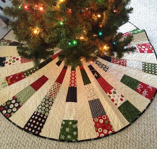 Christmas Tree Skirt White