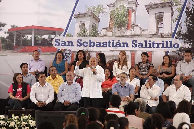 Festival para el Buen Vivir y Gobernando con la Gente - San Sebastián Salitrillo.