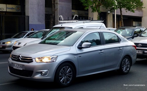 Citroën C-Elysée - Santiago, Chile