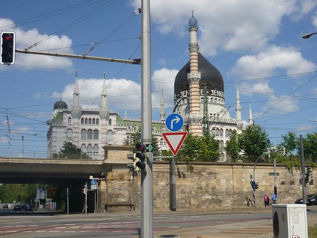 Dresda, la Moschea del Tabacco Yenidze