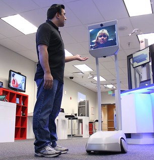 Suitable Technologies Beam telepresence robot | by IntelFreePress