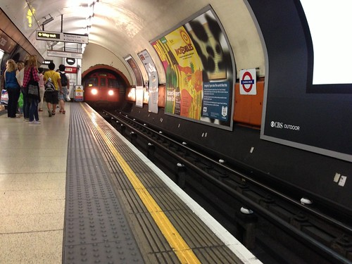 At Charing Cross Station