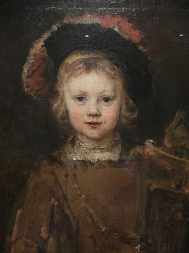 DSCN7598 _ Portrait of a Boy (detail), 1655-60, Rembrandt van Rijn (1606-1669), Norton Simon Museum, July 2013