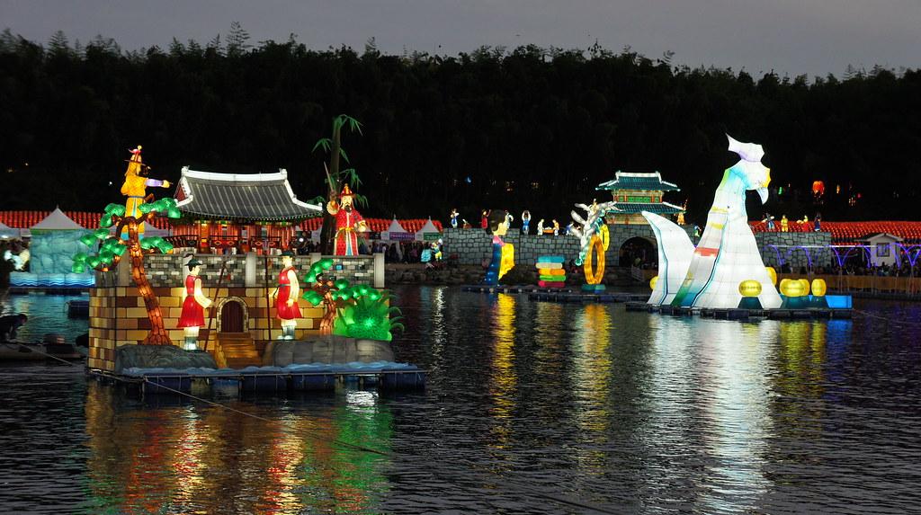 진주남강유등축제 (2011-10-03)