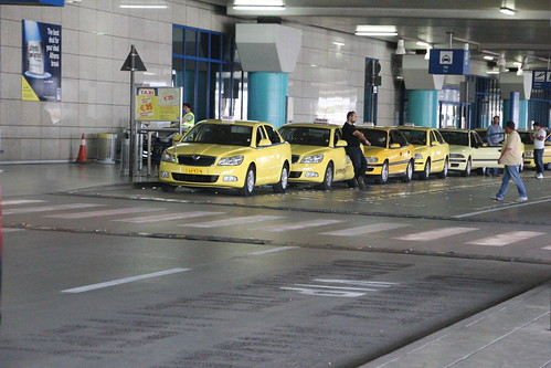 Athens Airport_Arrivals_15 Taxi rank | by e_ht12