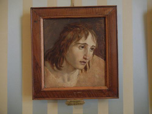 DSCN4750 _ Suntto per la testa di Gian Galeazzo, Pelagio Palagi, Palazzo D'Accursio (Palazzo Comunale), Bologna, 18 October