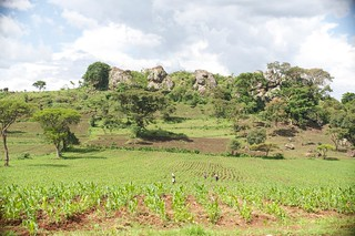 Landscape features in Mt Elgon district | by UNDP KENYA