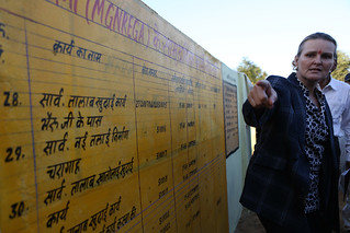 Haoliang Xu Visits the Work site of MGNREGA in Rajasthan | by UNDP in India