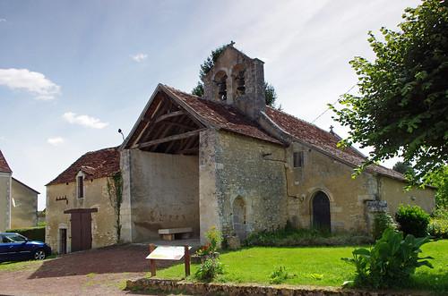 Saint aigny indre saint aigny indre eglise saint - La grange des dames angles sur l anglin ...