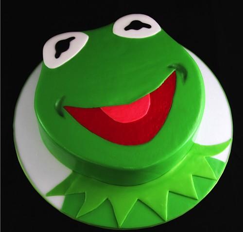 Kermit Cake Pan