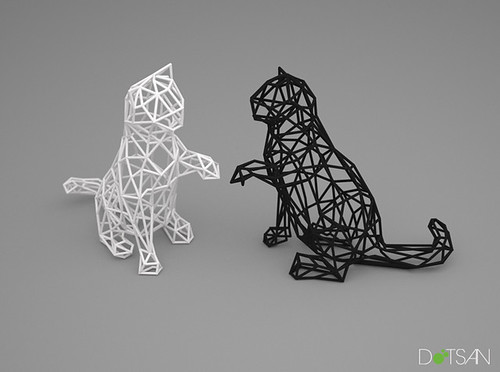 3d printed kitten flickr photo sharing. Black Bedroom Furniture Sets. Home Design Ideas