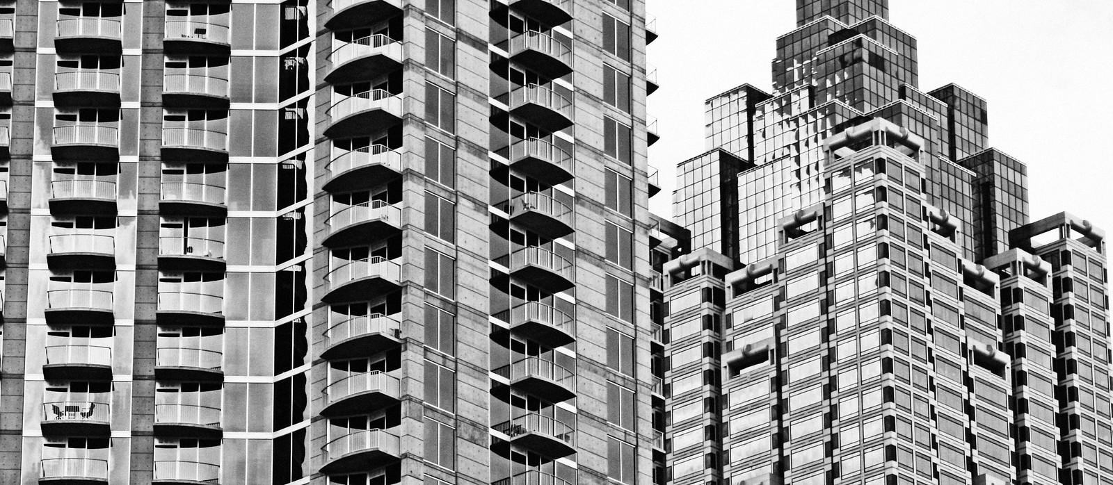 12 Centennial Park Hotel, Balconies in June, Atlanta, 2013