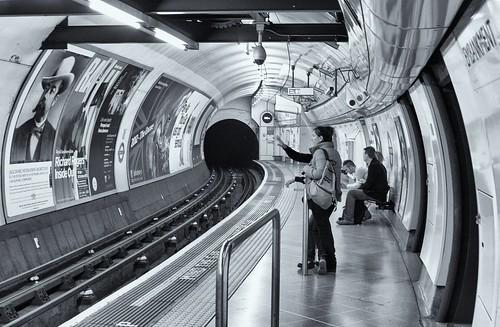 Embankment Tube Station Platform