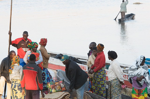 Waiting for transport, Mongu harbor, Zambia. Photo by Patrick Dugan, 2012.