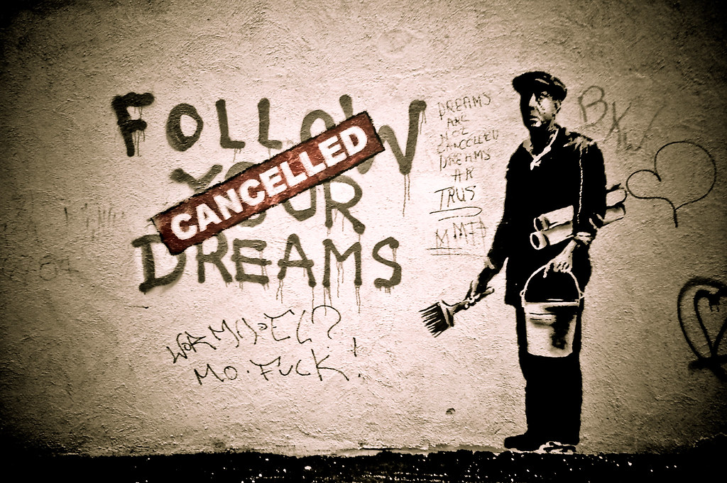 Follow Banksy's Dreams