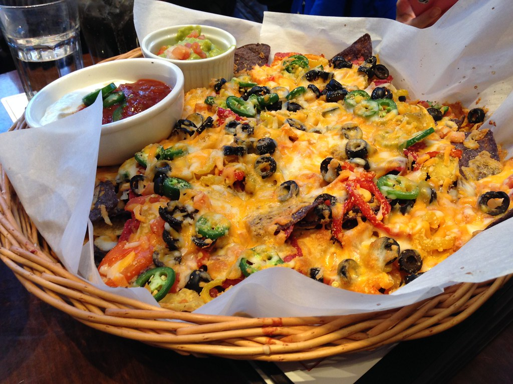 Awesome nachos at Garibaldi Lift Co.