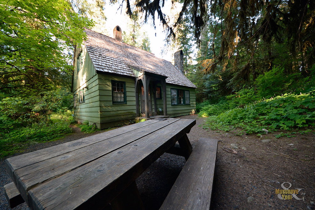 Government Mineral Springs Guard Station Wa Flickr