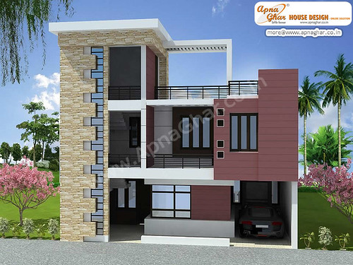 Duplex House Design 3 Bedrooms Duplex House Design In 180m Flickr