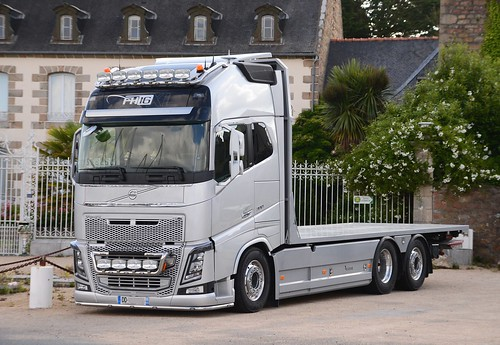 volvo fh16 xl 700 plateau carrosserie le rouic flickr photo sharing. Black Bedroom Furniture Sets. Home Design Ideas