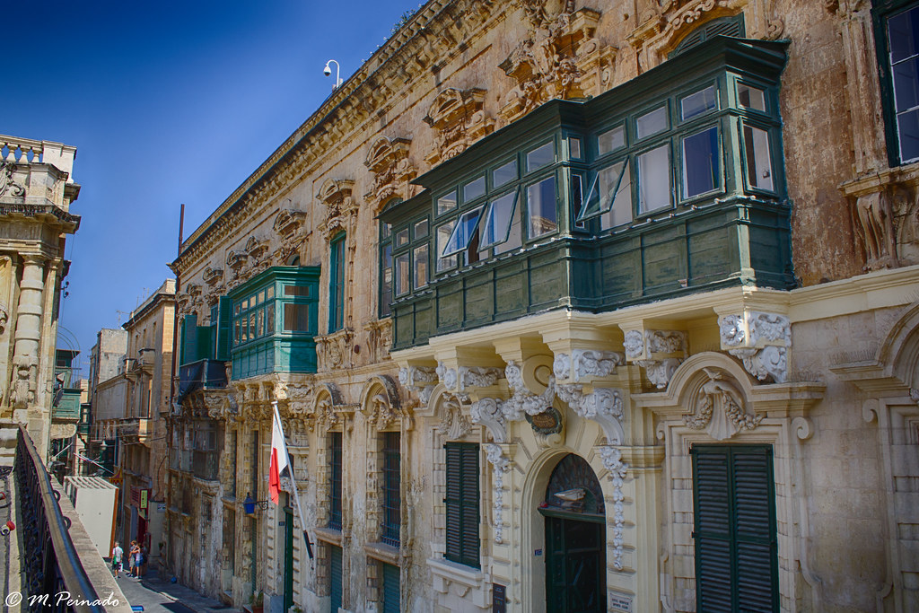Traditional Buildings Valletta