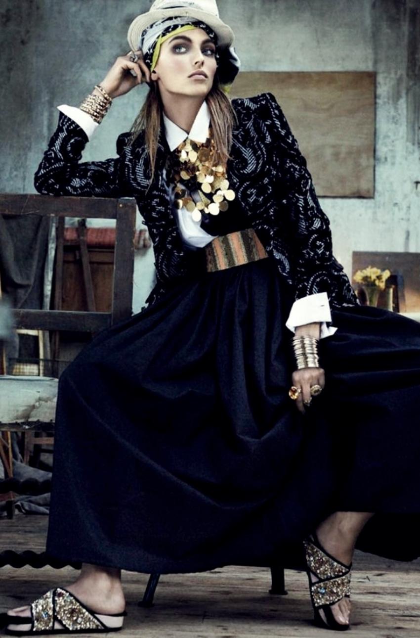editorial moda folk