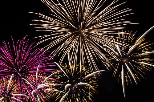 Kobe Fireworks 2014 15