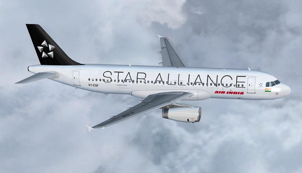 Air India Airbus A320-200 VT-ESF