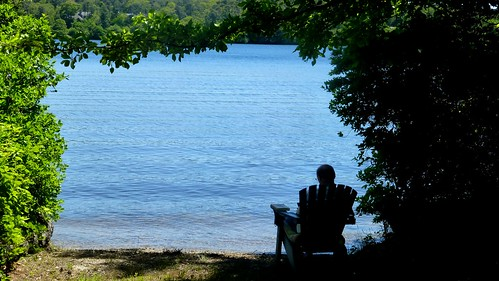Reading By The Lake Brewster Cape Cod Ma Flickr