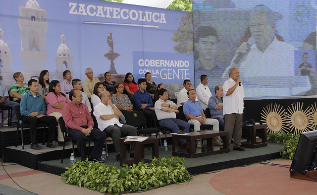 Festival del Buen Vivir y Gobernando con la Gente. Zacatecoluca