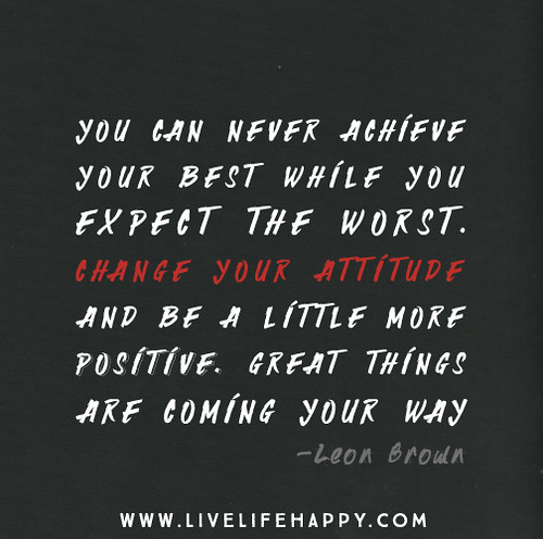 how to change your life in a positive way