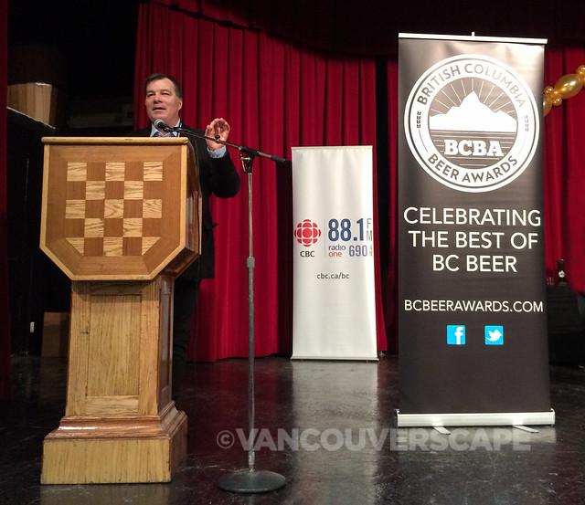 Awards host CBC's Stephen Quinn