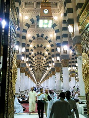 Through The Gate of Masjid Nabawi