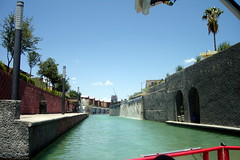 Santa Lucía riverwalk