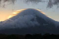 Volcan Concepcion Sunrise Halo