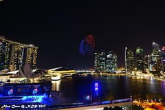 Merlion in the sky