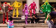 Statues, Orchard Road