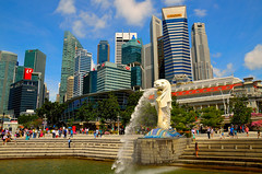 Merlion & CBD