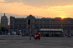 Sunrise on the National Palace