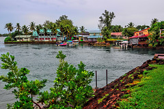 Koror, the largest settlement in Palau