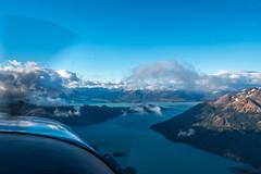 Flying above Lago O'Higgins