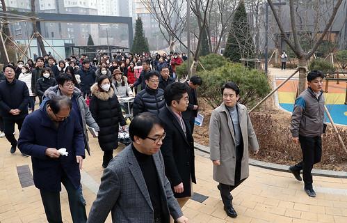동탄2 C15블록 반도아파트(4차) 민원현장 간담회