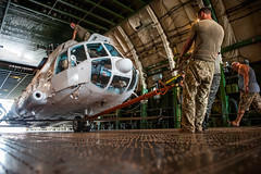 Ukrainian helicopters withdrawal