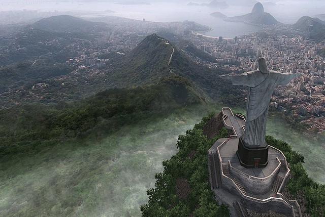 Rio De Janeiro - Christ the Redeemer statue