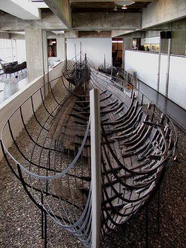 Skeleton longboat